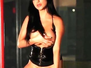 Chesty Priya Rai Rails The Sybian Saddle At The Disrobe Club