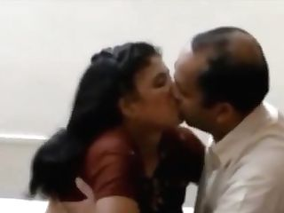 Indian Wifey Pleasing Her Hubby Chief For His Premossion
