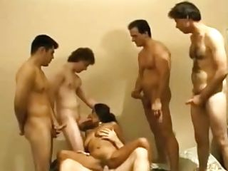 Gang-fuck Archive Unexperienced Indian Mummy Fucked By Five Milky Guys