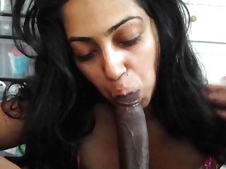 Indian Ladies Very First Oral Internal Cumshot